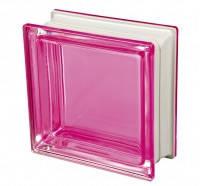 Стеклоблок розовый дизайнерский Q19 Colored Mendini Италия