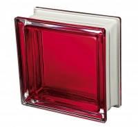 Стеклоблок Италия красный дизайнерский Q19 Colored Mendini