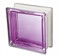 Стеклоблок фиолетовый дизайнерский Q19 Colored Mendini Италия