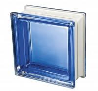 Стеклоблок итальянский синий Q19 Colored Mendini Италия