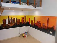 СКИНАЛИ стеклянные кухонные фартуки, панели для мебели и стен