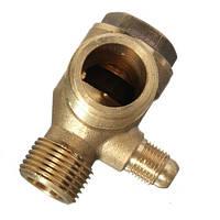 Обратный клапан на компрессор, латунь