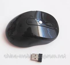 Мышь  оптическая беспроводная G108, black, фото 2