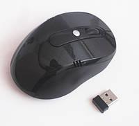 Мышь  оптическая беспроводная G108, black, фото 1