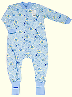 Комбинезон для новорожденных ТМ Ля-Ля, интерлок (артикул 8Т041)
