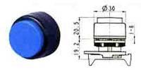 Кнопка круглая выступающая