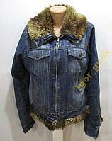 Куртка джинсовая DENIM CO, 38, ОТЛ СОСТ!