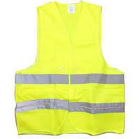 Светоотражающая жилетка безопасности размер М, желт