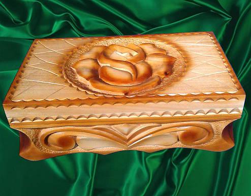 Шкатулка резная подарочная, фото 2