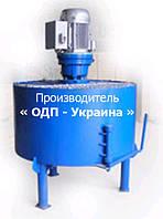 Промышленный Растворосмеситель БСД-350 Лопастной - Принудительного типа