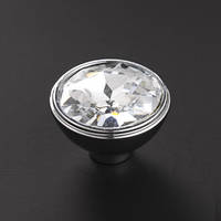 Ручка кнопка с кристаллом NL-С-6700, фото 1
