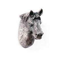 """Стилизованная мебельная ручка NL-PA-00200 """"Лошадь"""""""
