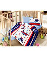 Постельное белье в кроватку ( 4 предмета) blue