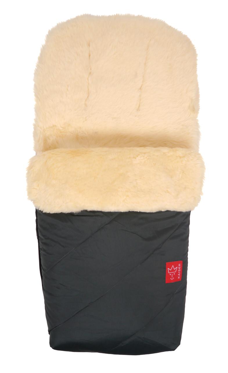 Зимний конверт на овчине Kaiser Paat, цвет атрацит