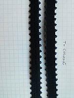 Резинка для шлеек бюстгалтера.Резинка двухсторонняя ,швейная фурнитура для белья .