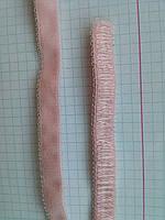 Резинка для шлеек бюстгалтера. Резинка двухсторонняя ,швейная фурнитура для белья .