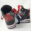 Детские демисезонные ботинки кроссовки для мальчика красные Bessky 29р., фото 2