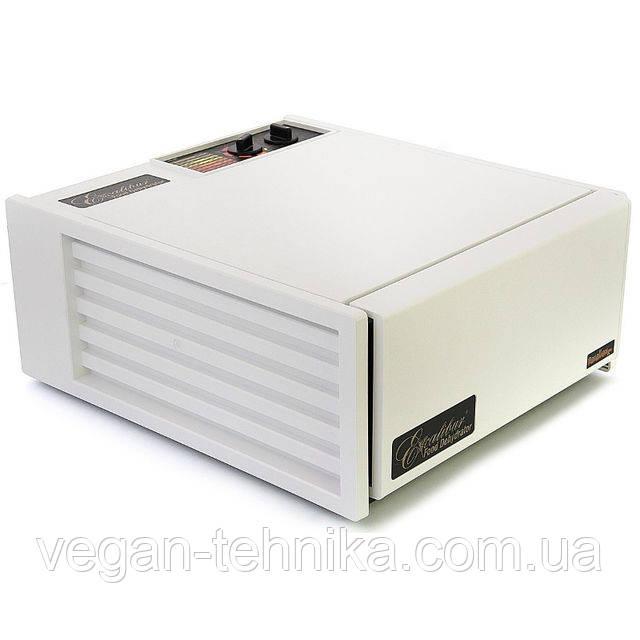 Дегидратор Excalibur 4526T White на 5 лотков с таймером