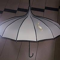 Зонт женский Японка бежевый