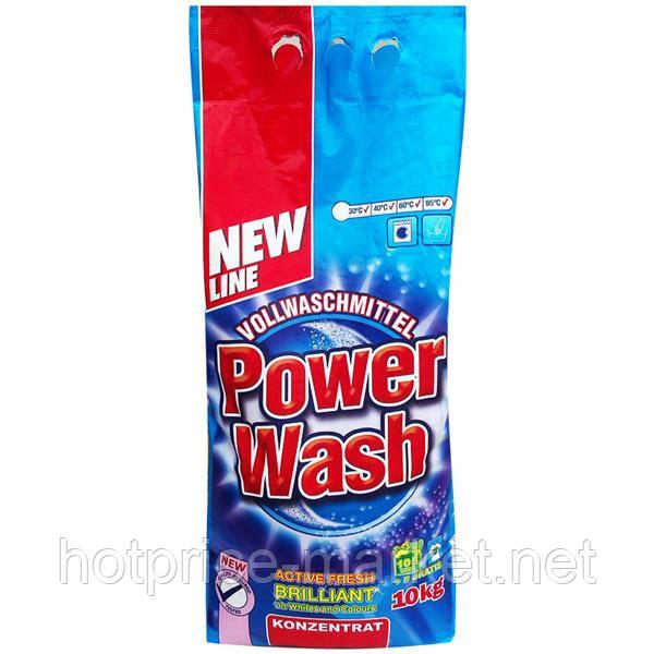 Стиральный порошок без фосфатов Power Wash 10 кг- Германия - HOTPRICE-MARKET  Магазин Горячих Цен в Днепре