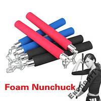 Нунчаки Nunchucks - с металлической цепью