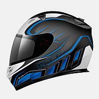 Мотошлем MT Blade SV Alpha Blue с очками.