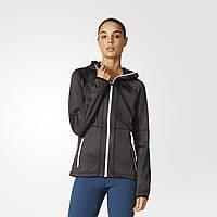 Женская толстовка с флисом Adidas Hooded (Артикул: AP8747)