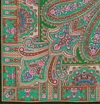 "Платок шерстяной с шерстяной бахромой ""Бирюсинка"", 125х125 см, фото 3"