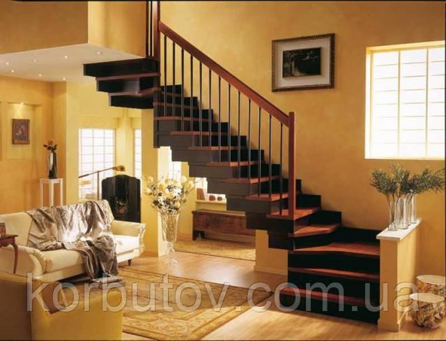 Применение древесины для лестниц между этажами