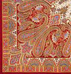 "Платок шерстяной с шерстяной бахромой ""Бирюсинка"", 125х125 см, фото 2"