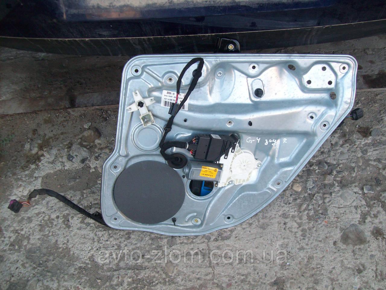 Электростеклоподъемник задний правый Volkswagen Golf 4.