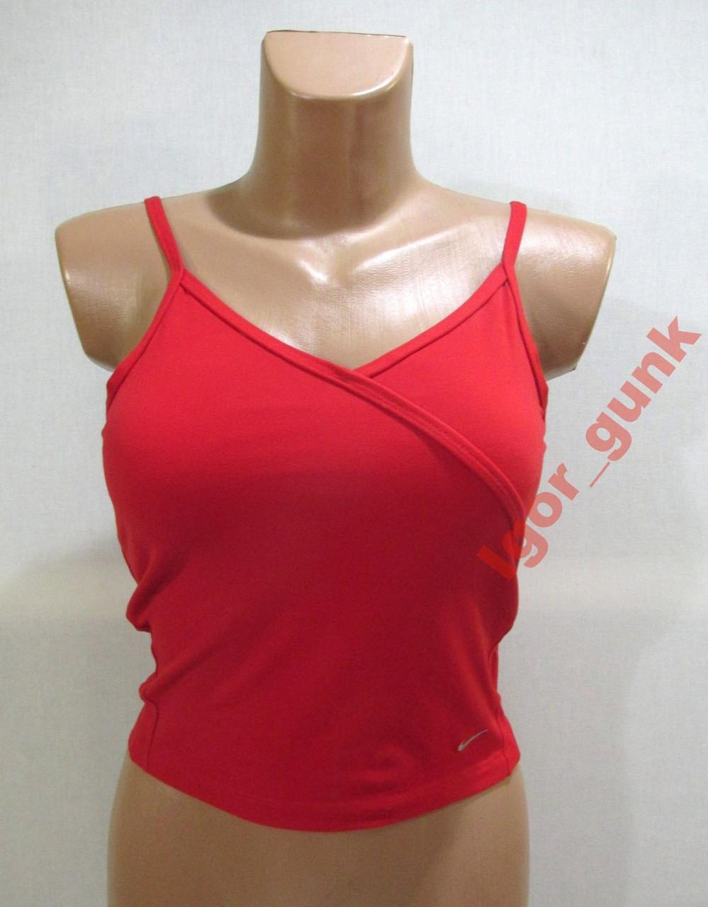 51079264 Топик спортивный NIKE, S, ОРИГИНАЛ! - EURO TOP - брендовая, эксклюзивная  одежда