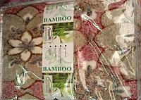Двуспальная простыня, пике-бамбук, 180х220 см, Турция