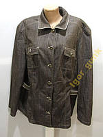 Куртка джинсовая GERRY WEBER, 48, ИДЕАЛ СОСТ!