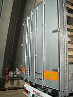 Изготовление ворот грузовых автомобилей