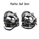 Новый раздел светодиодных линз. Новейшие линзы Koito BiLed.