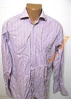 Рубашка M&S SARTORIAL, 42, COTTON, КАК НОВАЯ!