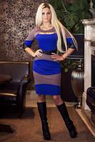Стильное платье Nikoletta электрик