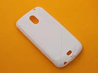 Чехол бампер TPU для Samsung Galaxy Nexus 3 Prime i9250 i515 L700 белый