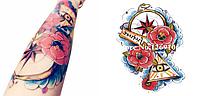 Временная татуировка. Цветные флеш тату