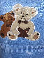 Яркое детское махровое полотенце. Размер: 1,5 x 1,0