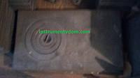 Плита печная чугунная 1-конфорочная прямоугольная (71х41 см)