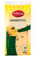 Сыр Milbona Emmental (Эмменталь) 400g.