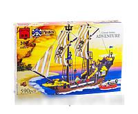 Конструктор Brick 307 Пиратский корабль 590 деталей AS