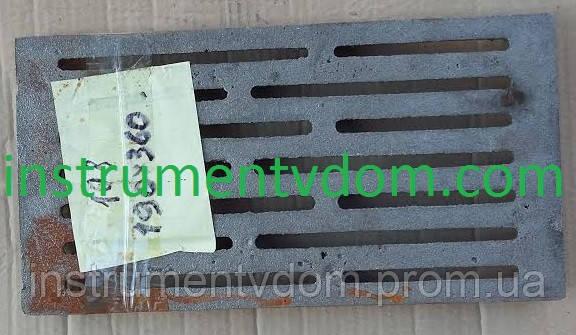 Колосниковая решетка чугунная (190х360 мм)