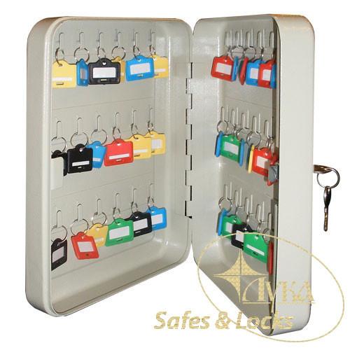 Ключница металлическая TS 0073 на 36 ключей