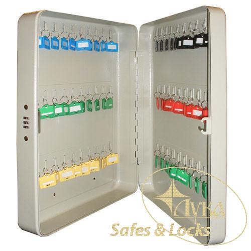 Ключница металлическая TS 0047 на 60 ключей