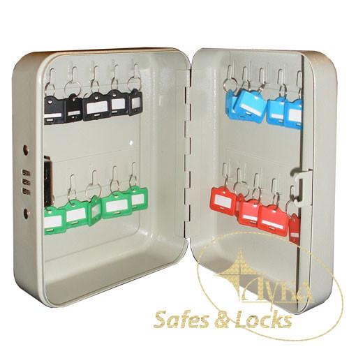 Ключница металлическая TS 0087 на 20 ключей