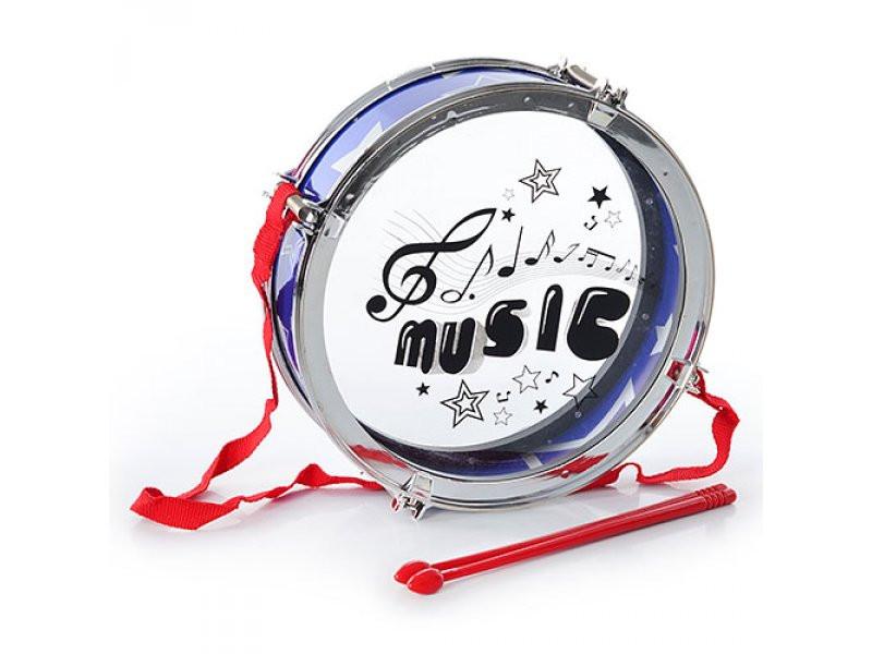 Барабан с палочками Metr+ 507-1