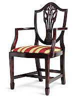 Кресло деревянный в английском стиле, резной